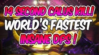 WORLD'S FASTEST CALUS KILL! [14 sec] [ONE PLATE KILL!]