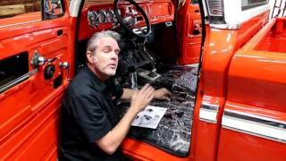 Classic Chevy & GMC Truck Carpet Installation