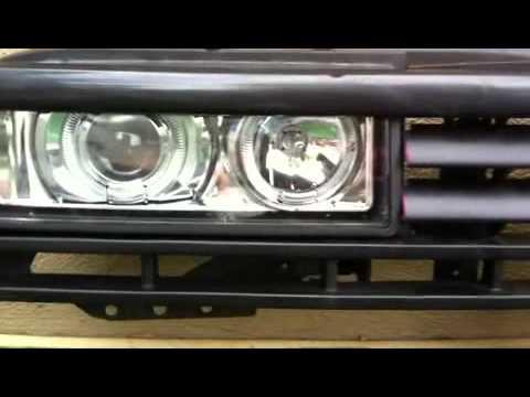 corrado rallye klarglas front f r vw golf 2 in pro youtube. Black Bedroom Furniture Sets. Home Design Ideas
