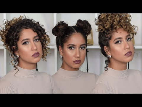 Quick And Easy Heatless Curly Hairstyles Curly Hair Tutorial - Curly hairstyle youtube
