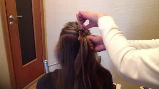 Основные техники плетения волос(французская коса,обратная французская,рыбий хвост,канатное плетение)