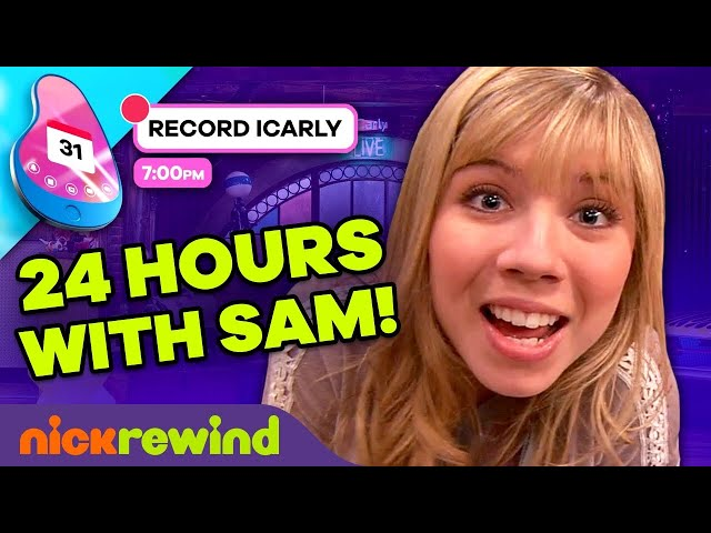 24 Hours with\: Sam Puckett ⏰ iCarly