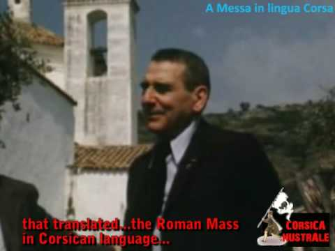 A messa in lingua nustrale-The mass in Corsican language.
