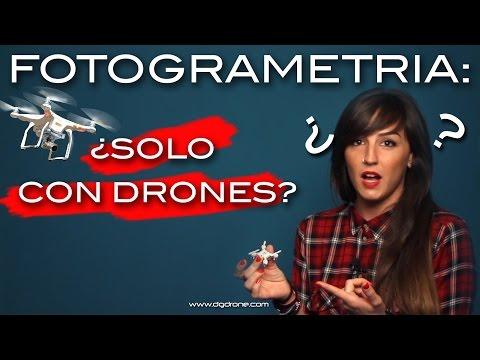 Fotogrametría: ¿Solo con Drones? // Photogrammetry: only with Drones?