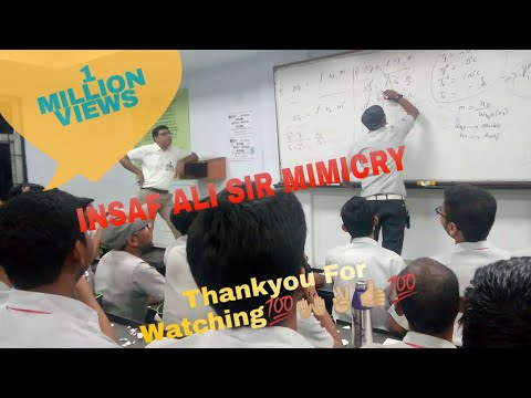 Insaf Ali sir and Atul Kumar Shukla Allen mimicry in MEB5 on Funday by Gulgul 😂😁✌👌