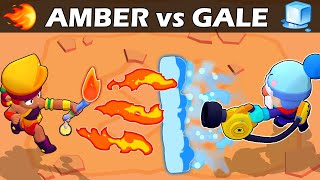 AMBER vs GALE | 🔥vs🧊 | Legendary VS Chromatic | Brawl Stars
