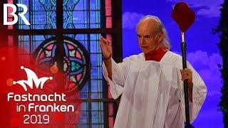 Klaus Karl-Kraus als Ministrant beim Fastnacht in Franken