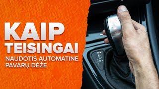 Toyota Aygo ab1 1 Amortizatorius keitimas - pakeitimo patarimai