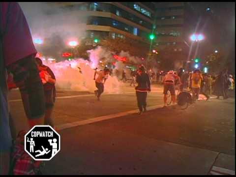 Copwatch: Oakland Police Tear Gas Occupy Oakland