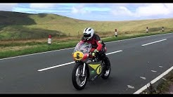 Classic TT Isle of Man - amazing sounding bikes ridden to the limit!