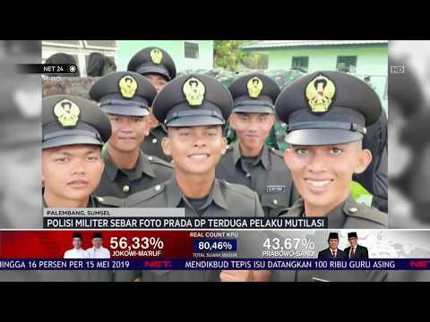 Polisi Militer Sebar Foto Prada DP Terduga Pelaku Mutilasi NET24