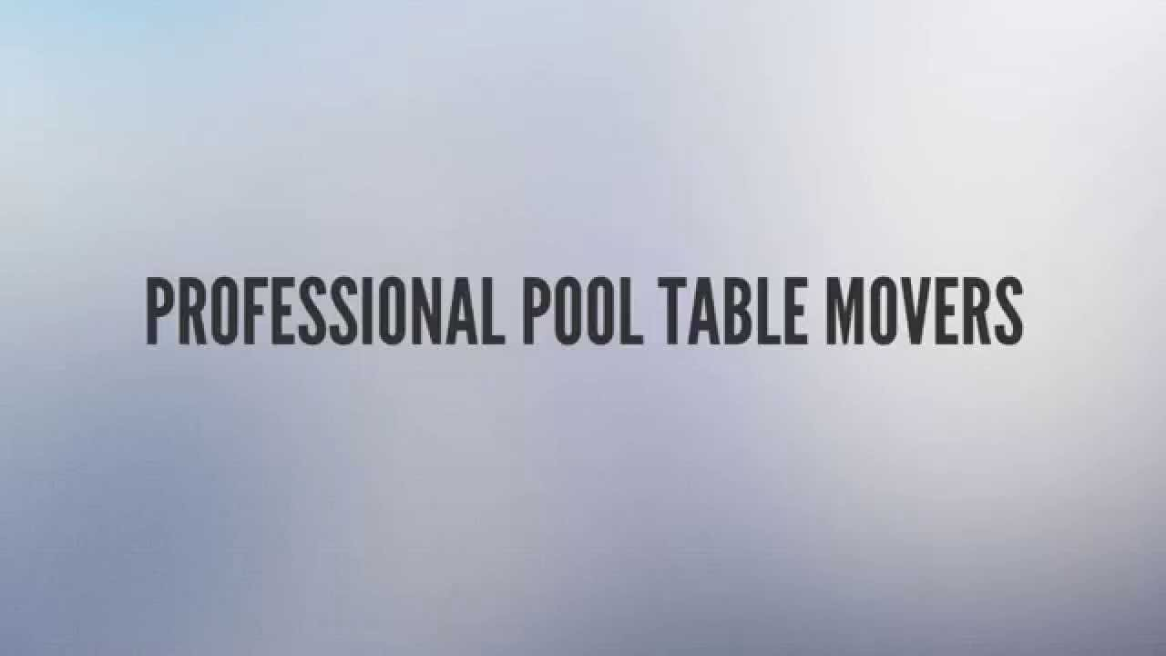 Pool Table Movers Phoenix Free Estimate YouTube - Pool table movers phoenix
