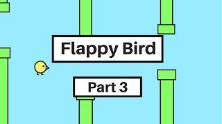 Scratch 3.0 Tutorial: How to Make a Flappy Bird Game in Scratch (Part 3)