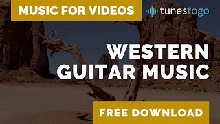 Western Acoustic Guitar Background Music | Free Download - Old West Road