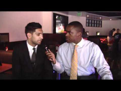 AMIR KHAN INTERVIEW SHUTDOWN DURING STEROID QUESTIONING