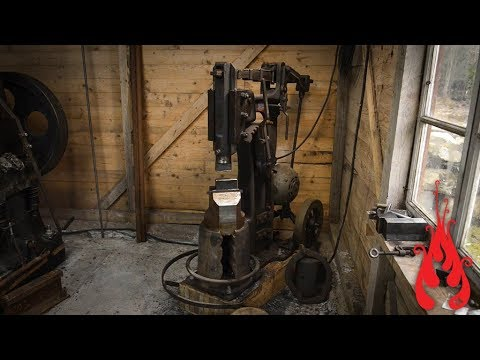 Blacksmithing   to the 25 kg ABNO power hammer