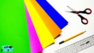 4 Amazing Paper Cutting Ideas | How To Make Simple And Easy Paper Cutting Design