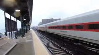 Rear Cab Car Horn From A Metro-North @ Scarborough