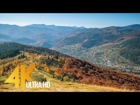 Autumn in the Ukrainian Carpathians - 4K Nature Documentary Film - Part 1