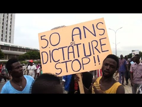 Protesters call for change in Togo