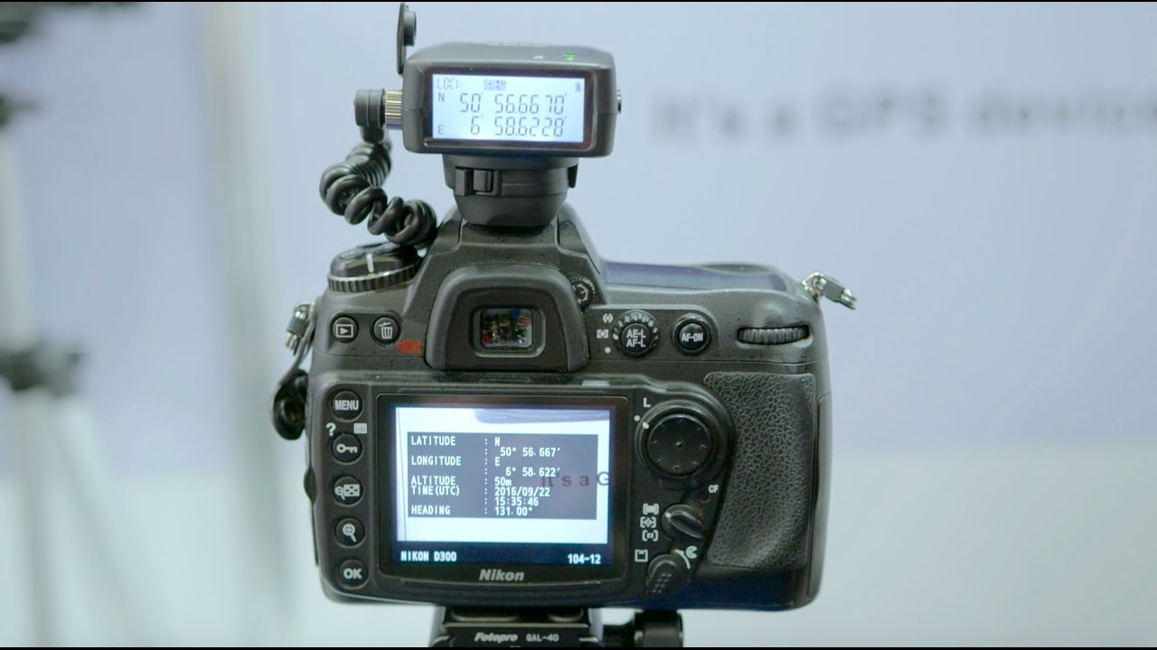 Solmeta Geotagger GMAX-EOS GPS receiver for Canon - PhotoProShop