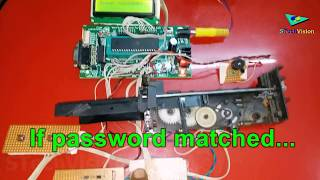 Auto door security - with password | Home Automation