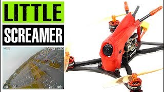 HGLRC Parrot120 120mm F4 2.5 Inch Toothpick quad full review and flight footage