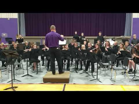 Palmyra Eagle Middle School- Band Concert. Oct. 23, 2018.