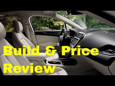 2019 Lincoln MKC Reserve AWD SUV - Build & Price Review: Colors, Interior, Features, Technology