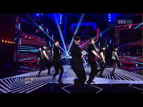 120527 SBS 人氣歌謠 Infinite - The Chaser