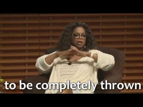 Stay motivated – Oprah