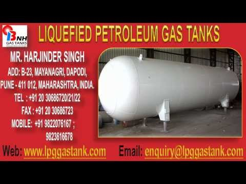 Liquefied Petroleum Gas Tanks