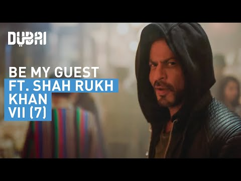Shah Rukh Khan's personal invitation to Dubai #BeMyGuest