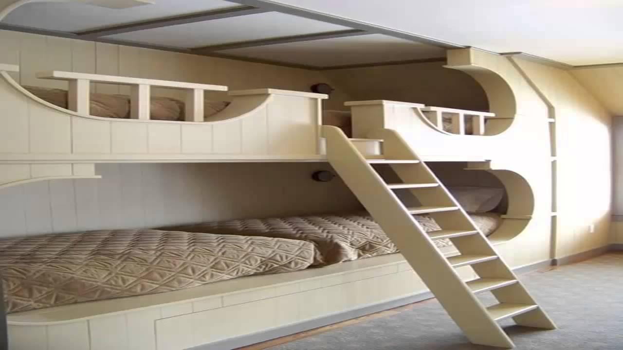 غرف نوم طابقين للأولاد       YouTube