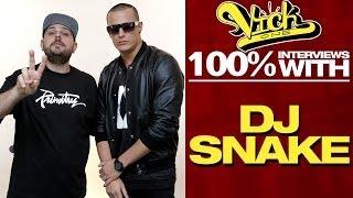 DJ Snake Hates His Neighbor | 100% Interviews w/VickOne