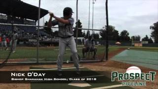 Nick O'Day, Bishop Shanahan High School Class of 2018, Swing Mechanics at 200 FPS