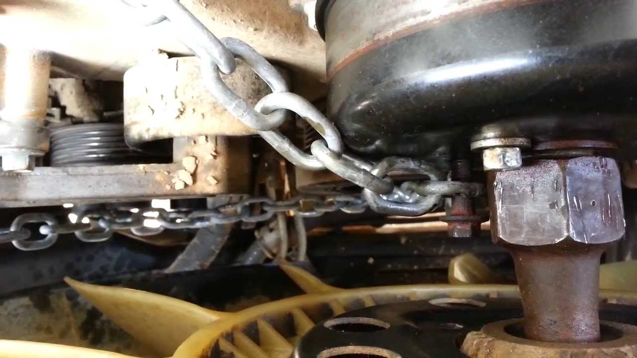 Removing A Radiator Fan Clutch Nut The Easy Way Youtube