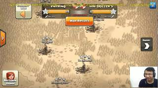 Live War ngày 12,13/08 Clash of Clans- VietKing (#J0JYGG9G) Clan Rush Hall