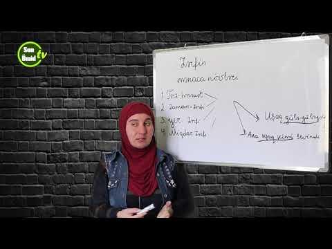 Zərfin mənaca növləri #Azərbaycan #dili #3-ci dərs
