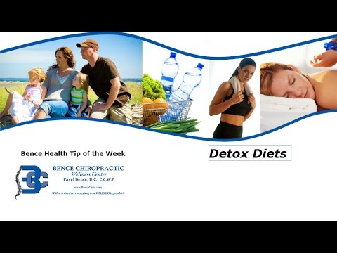 Bence Chiro News -- Are Detox Diets a waste of money?