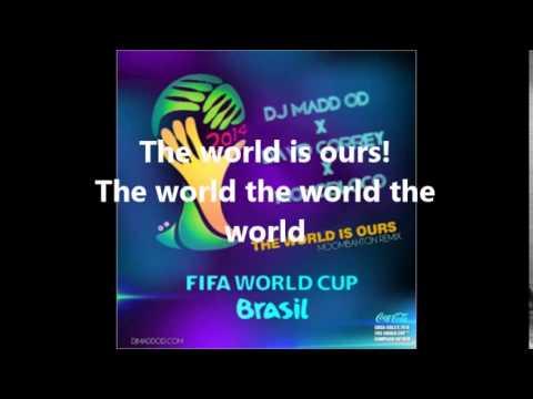 The World Is Ours- Aloe Blacc X David Correy Lyrics