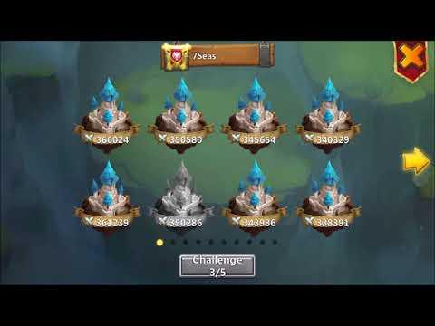 POCAY's BEST GW Score XD, MINO Vs BLINDING BLOW, OMG Castle Clash
