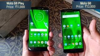 Moto G6 vs Moto G6 Play: Comparison [Hindi-हिन्दी]