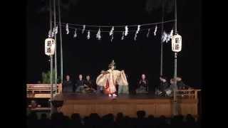 観月薪能にしわき[能]羽衣(2010.08.30)