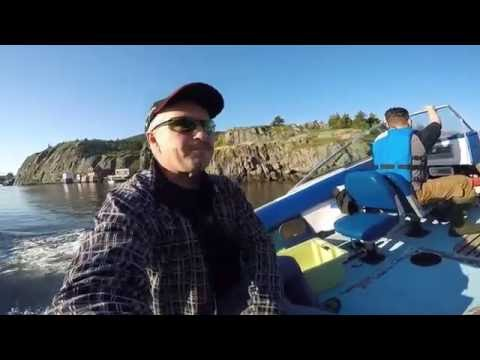 Fishing in CANADA Cod Jigging St. John's NL.