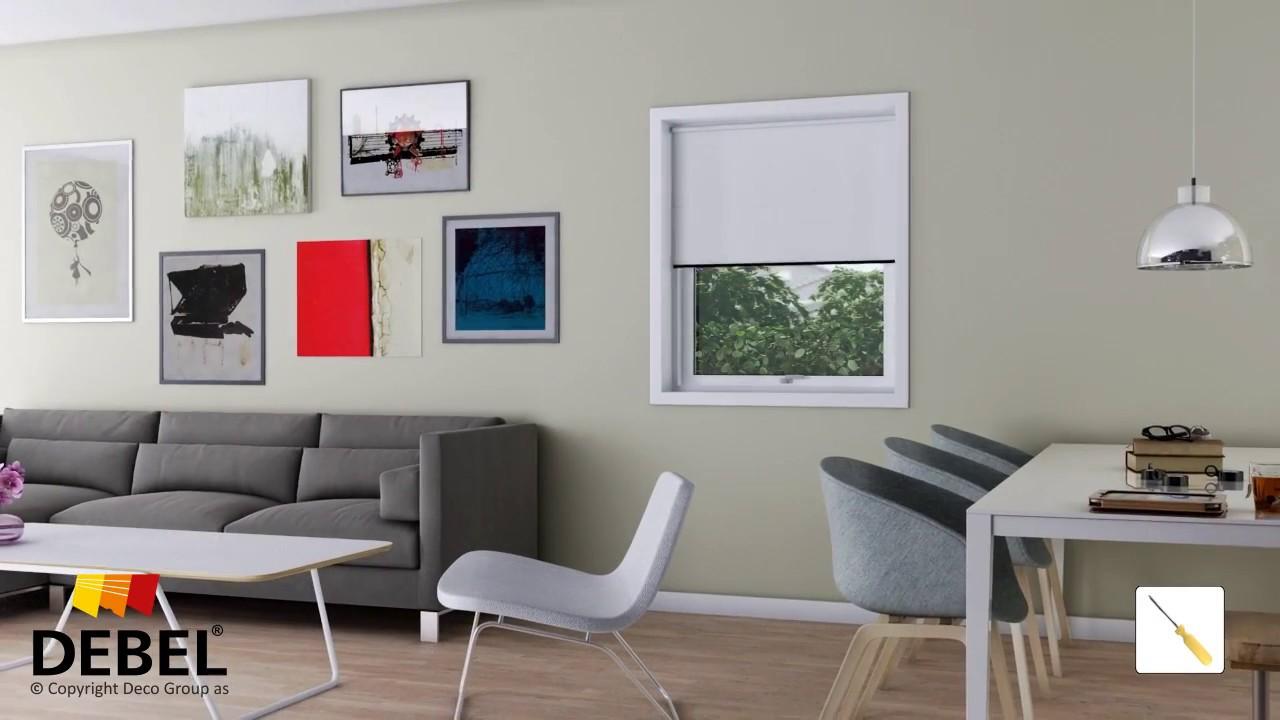 Svært Montering af dine gardiner - følg vores videoguides | DEBEL MN-56