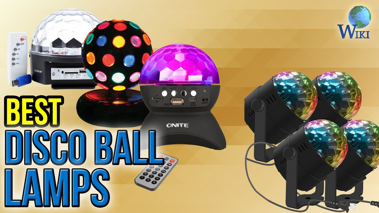 9 Best Disco Ball Lamps 2017 - YouTube
