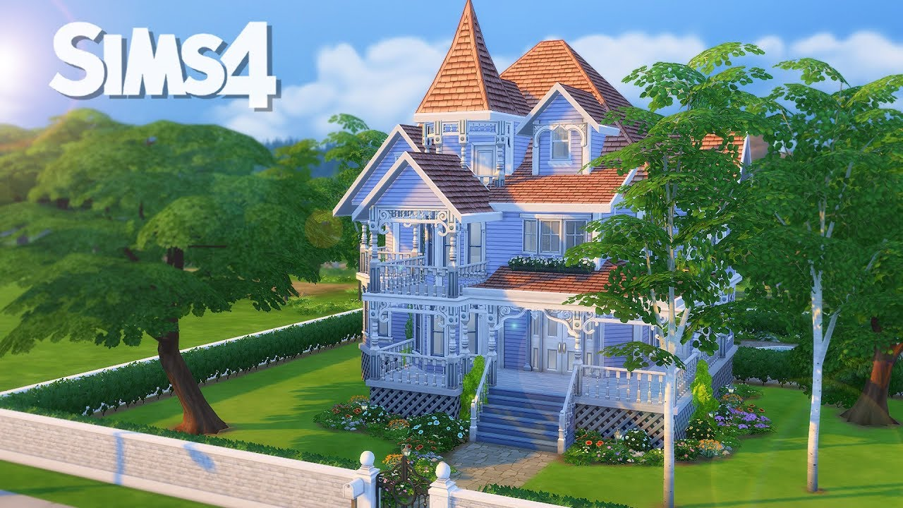 Maison Victorienne Sims 4 Youtube