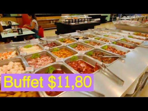 Eat Buffet $11.80/person(EP.004)#ញាំុអាហារប៊ុហ្វេ