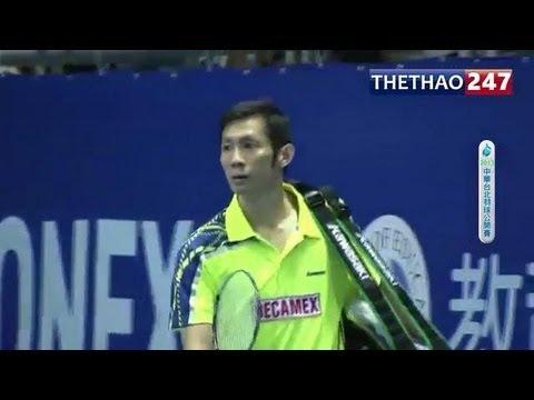 Chung kết cầu lông Đài Loan: Tiến Minh vs Son Wan Ho